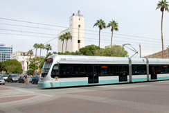 Metro Light Rail in Tempe