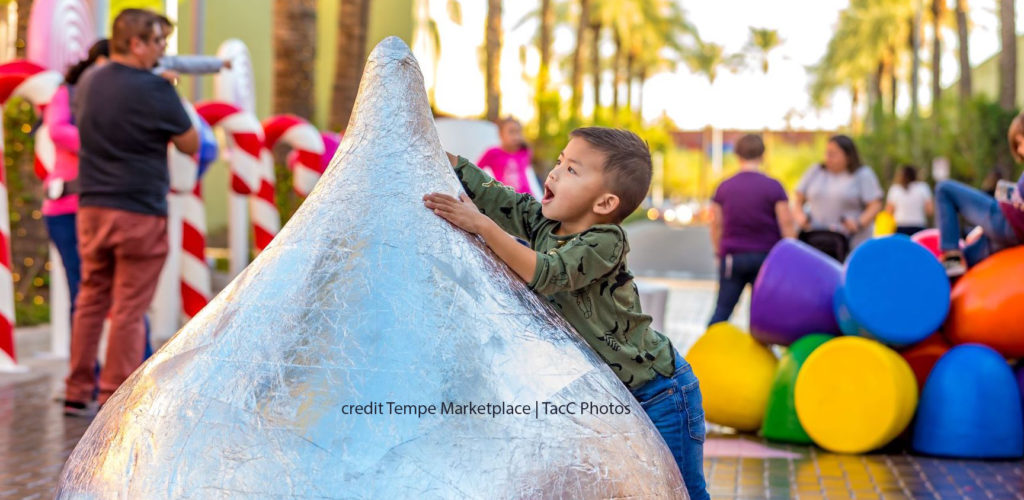 Candy Cane Lane at Tempe Marketplace